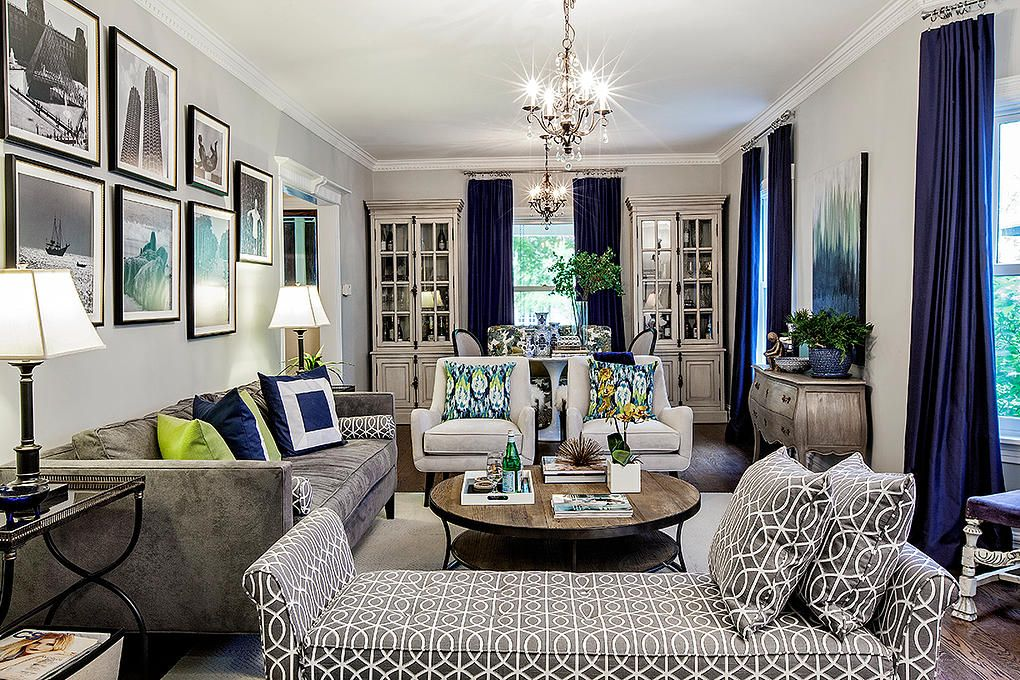 Interior design before and after by tiffany brooks hgtv