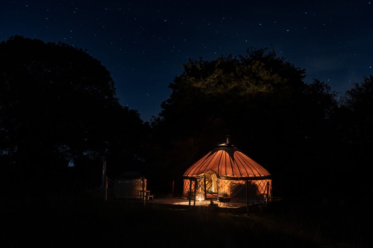 Yurtshire Fountains Aldfield Ripon North Yorkshire Holiday Cottage Glamping Site Caravan Park