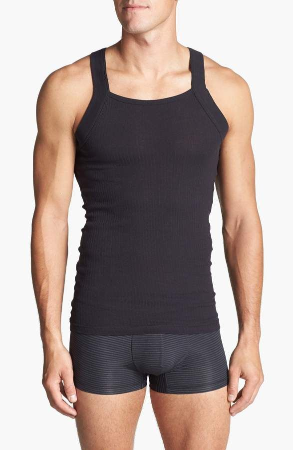 2fc26bfba4e1a7 2xist 2-Pack Cotton Tank Top