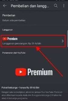 cara berhenti langganan youtube premium iphone