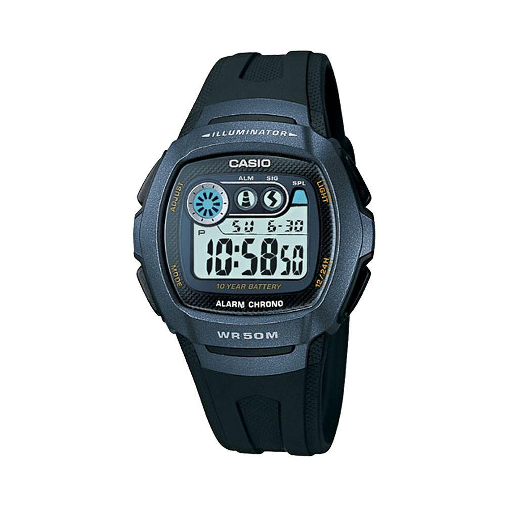 01308873cecd Casio Men s Illuminator Digital Chronograph Watch - W210-1BV