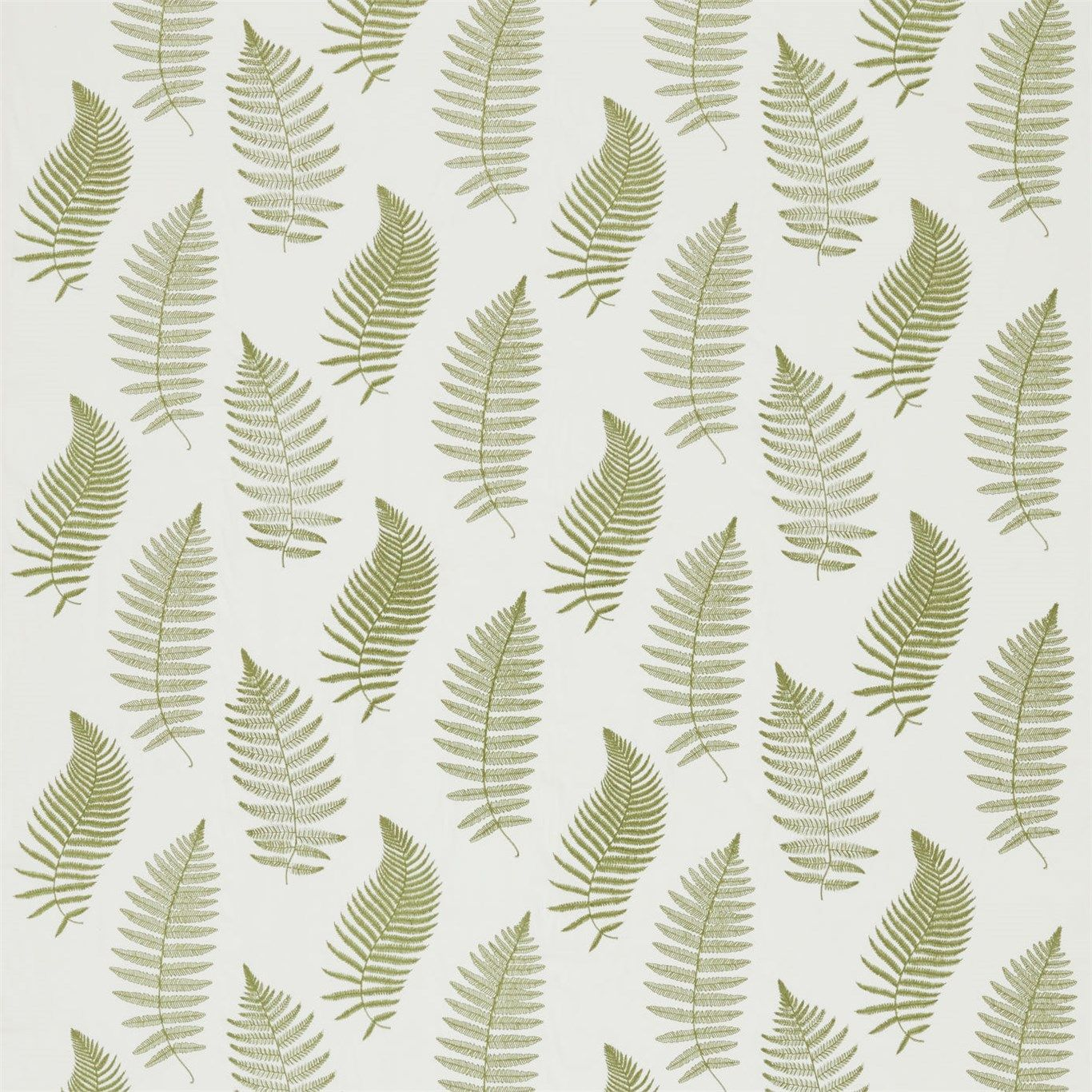 FABRIC: Fern Embroidery - Sanderson - Traditional to contemporary ...