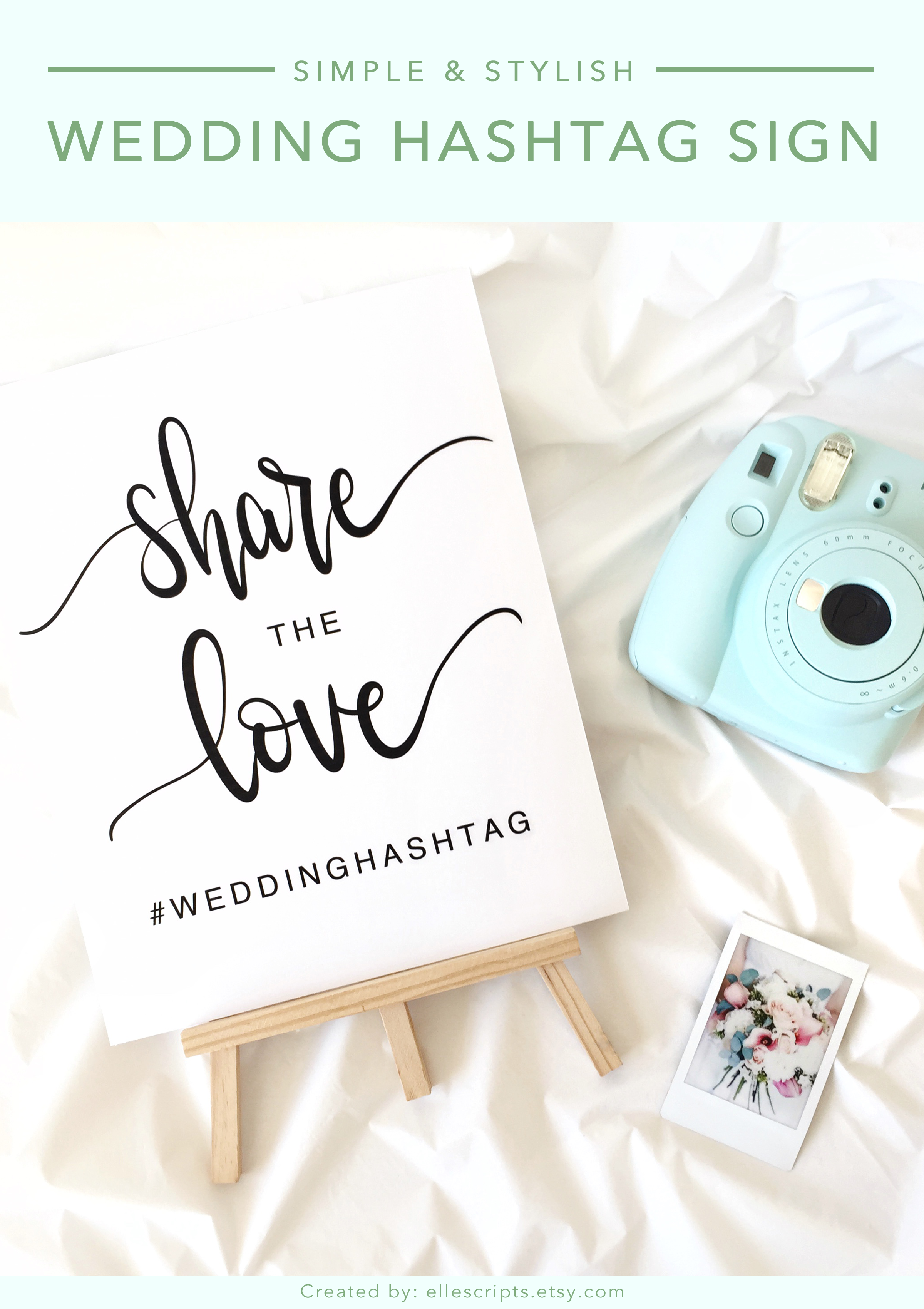 Share the Love Wedding Printable Wedding Décor Wedding