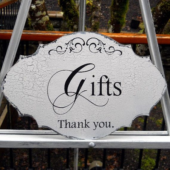 Wedding Gift Table Sign Wording : about Gift Table Signs on Pinterest Wedding gift tables, Gift table ...