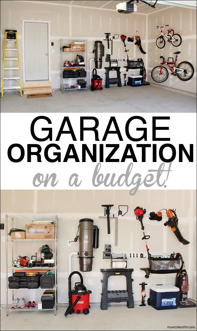 Garage Organization Garage organization, Organizing your