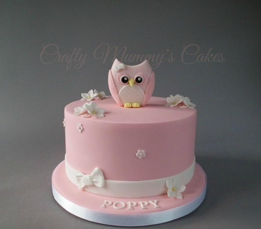 Little Owl by CraftyMummysCakes TracyAnne Cakes Cake