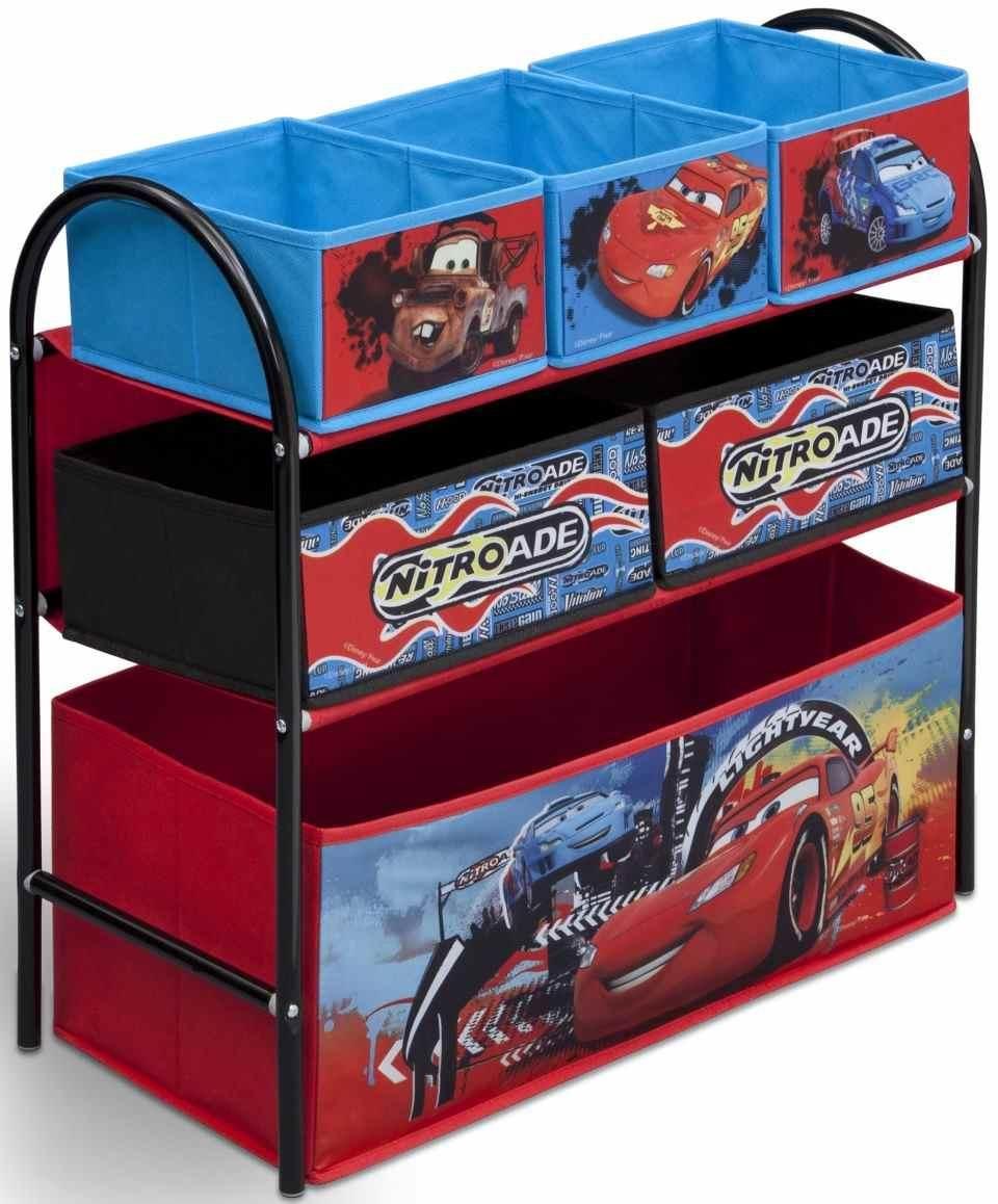 Organizador de juguetes cars disney ideal para el uso de almacenamiento de juguetes bainba - Casitas de tela para ninos toysrus ...