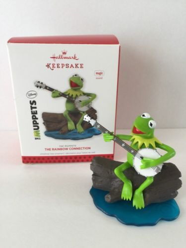 Hallmark Rainbow Connection Kermit the Frog Muppets Christmas ...
