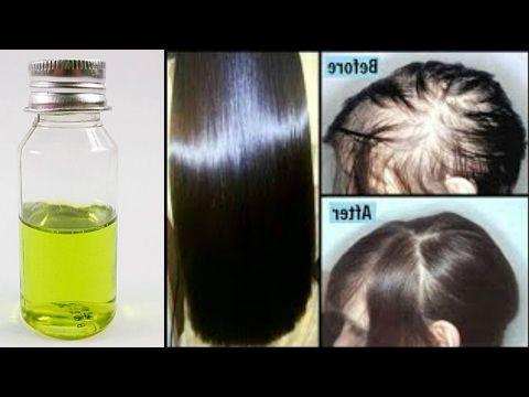Recette pour pousse rapide des cheveux
