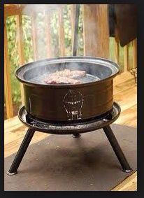 Tire rim grill | Fire pits | Pinterest | Stove, Furniture ideas ...