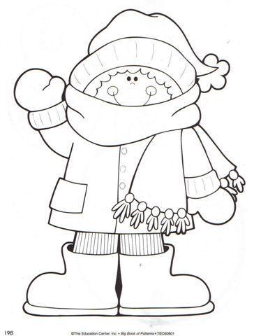 Pin de Florcita Gauna Deluca en Dibujos | Pinterest | Invierno ...