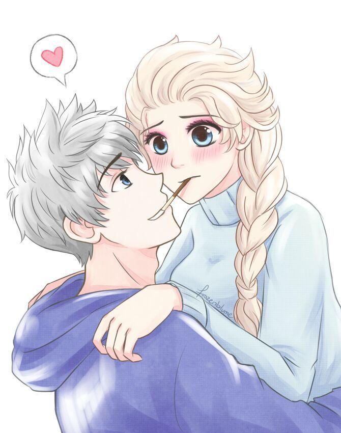 Pin En Elsa Y Ana Y Jack