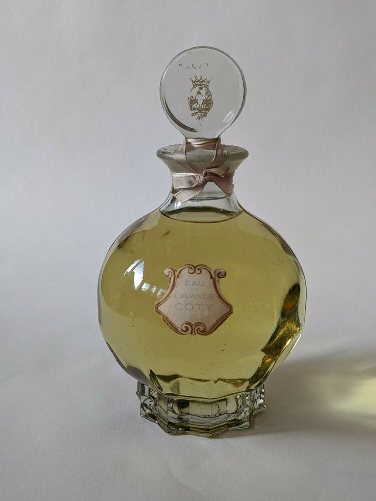 COTY EAU DE LAVANDE PARFEM PARFUM VINTAGE FLACON | eBay in