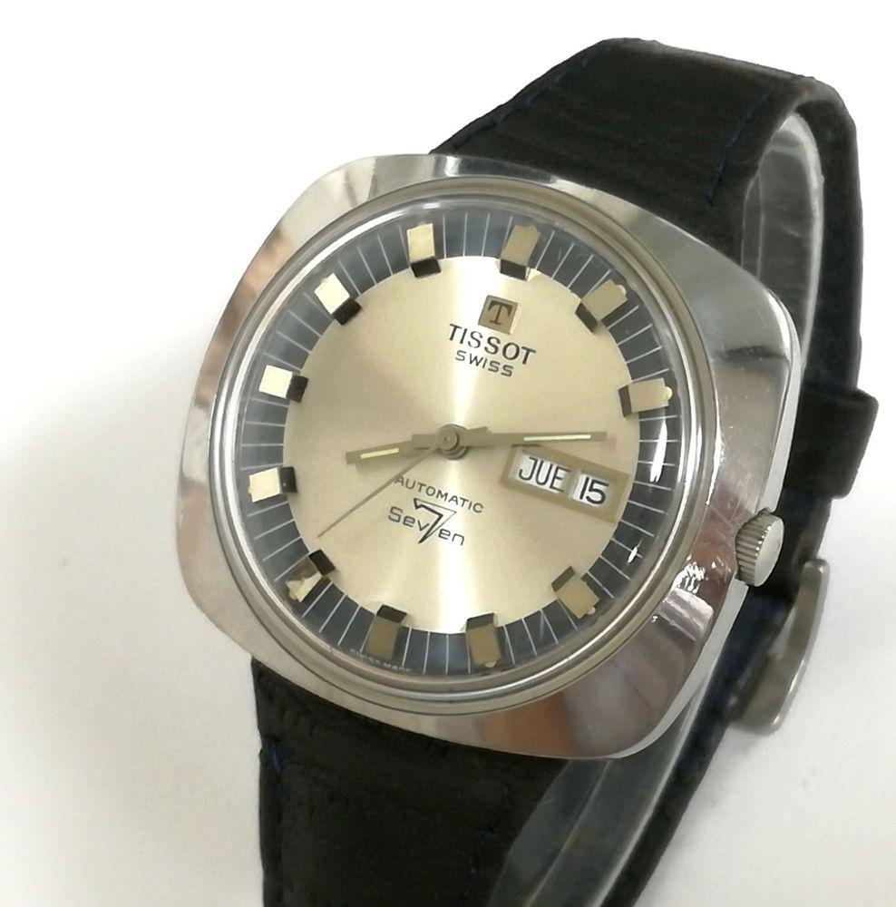 38dd3cd12c0d Reloj TISSOT Automatic Seven Tool 107 Completamente Original Vintage ...