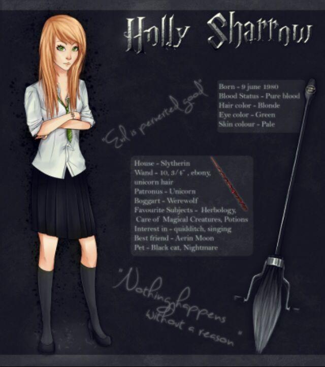 Slytherin girl OC | Funny Harry Potter stuff | Harry potter