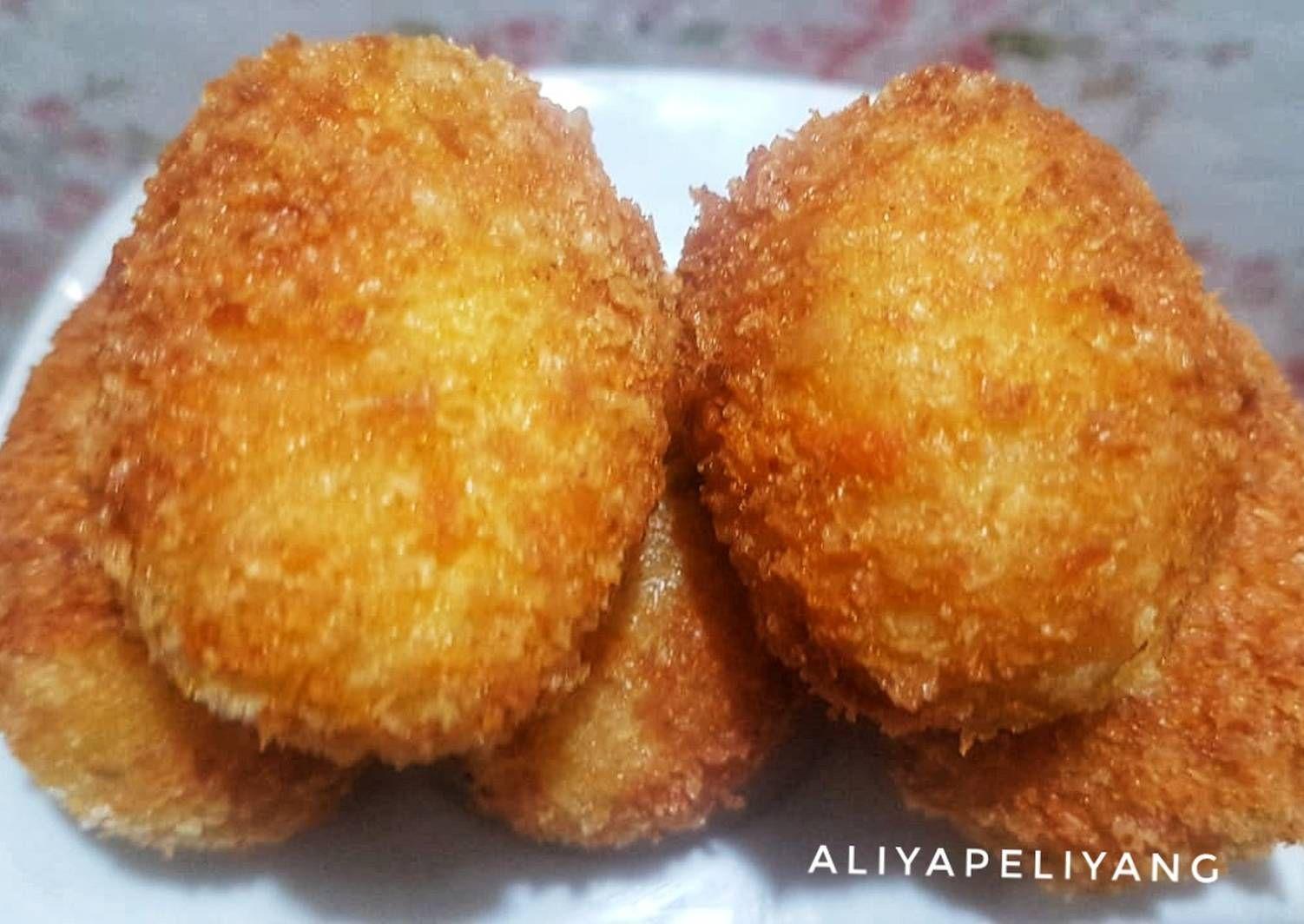 Resep Kroket Kentang Isi Ayam Oleh Aliyapeliyang Aliyakitchen Resep Makanan Makanan Dan Minuman Kroket