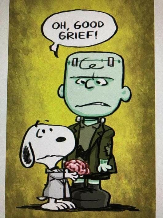 Today Is National Frankenstein Friday Little Dogs Snoopy Pictures Snoopy Love