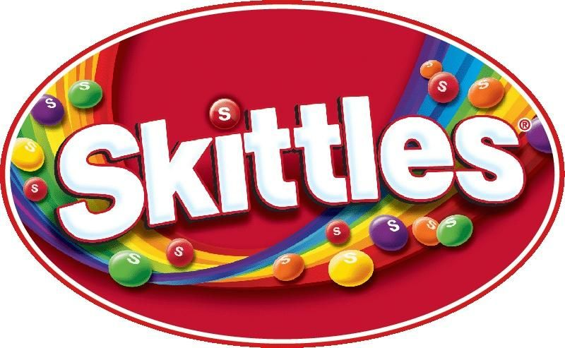 Amazon Com Skittles Original 2 17 Ounce Packages Pack Of 36 Fruit Flavored Candies Grocery Gourmet Food Skittles Logo Candy Logo Skittles