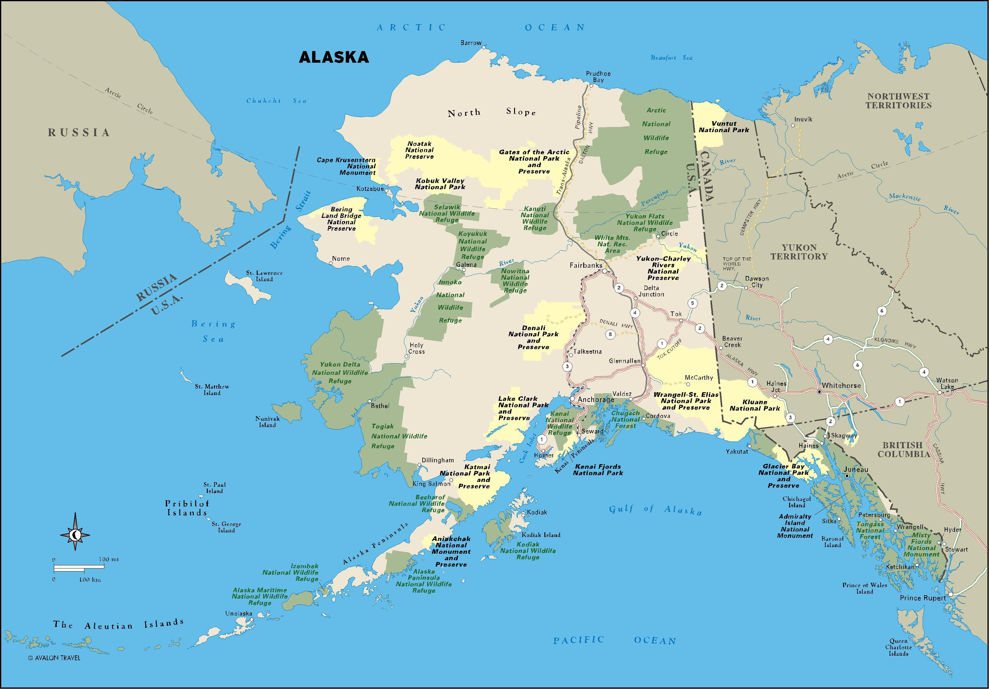 Three Week Best Of Alaska Itinerary Alaska Alaska Usa And - Alaska usa map