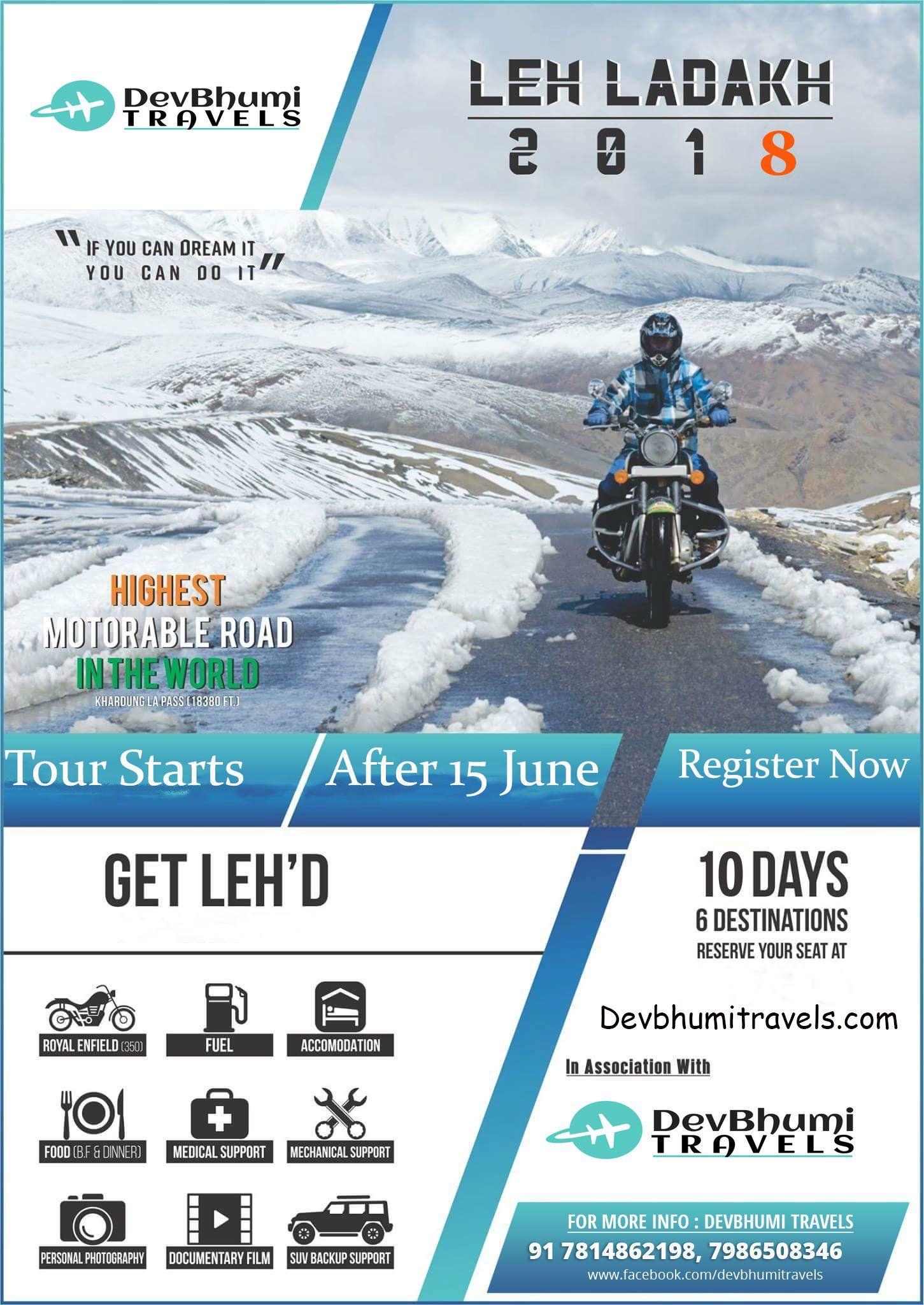9 Days Leh Ladakh Bike Trip 2020 Leh Ladakh Leh Adventure Travel