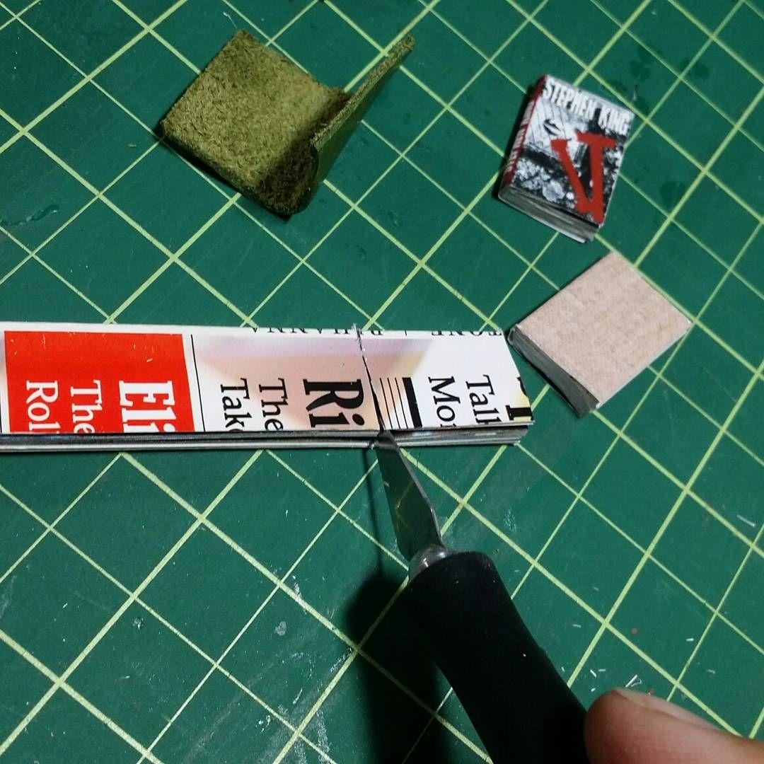 4 Miniature OPENING   /'STEAMPUNK/'   Magazines Dollshouse 1:12 scale