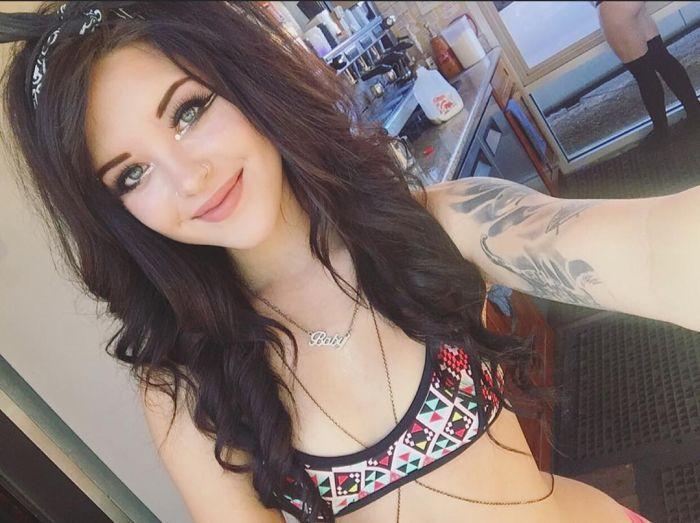 green eyes tattoo teen selfie face | thecrossfit | pinterest | green