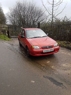 eBay: 2003 SUZUKI SWIFT GLS RED SPARES OR REPAIR BARGAIN CHEAP ...