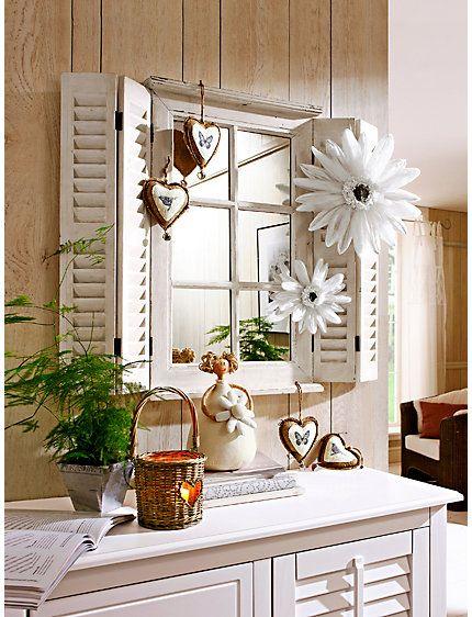 heine home spiegelfenster als wanddeko im online shop kaufen spiegel fenster dekor bauernhaus kuchen affaire wandobjekte wohnzimmer