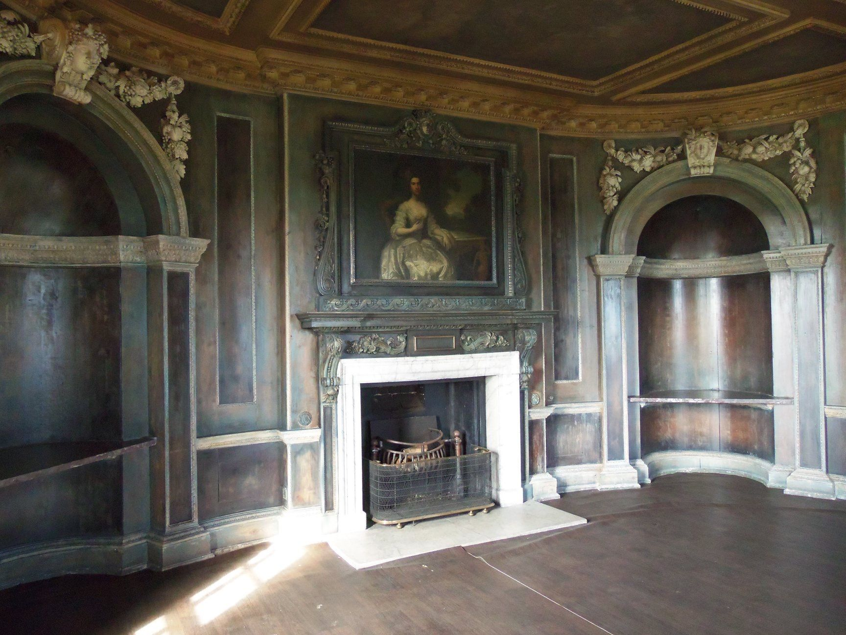 Low Drawing Room At Wentworth Woodhouse House In The Woods Wentworth Woodhouse Hall House