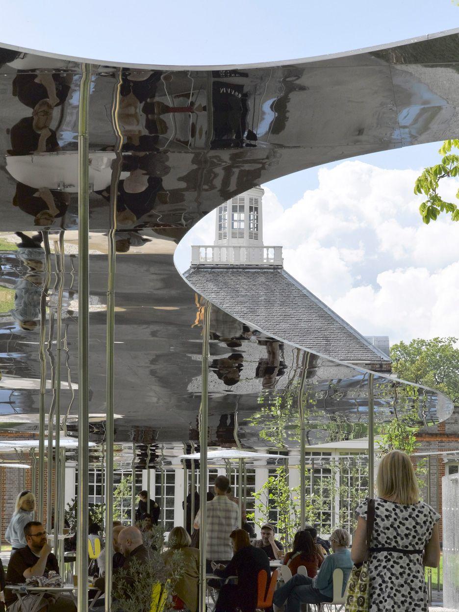 Serpentine Gallery Pavilion 2009 By Kazuyo Sejima And Ryue