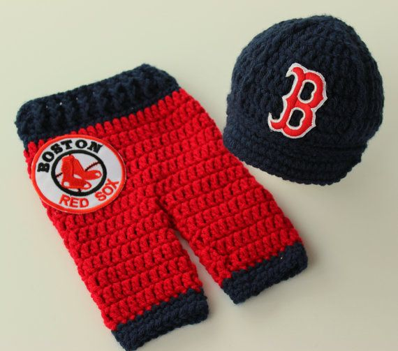 Newborn Boston Red Sox Outfit Uniform Set- Hat 16d0879ac22