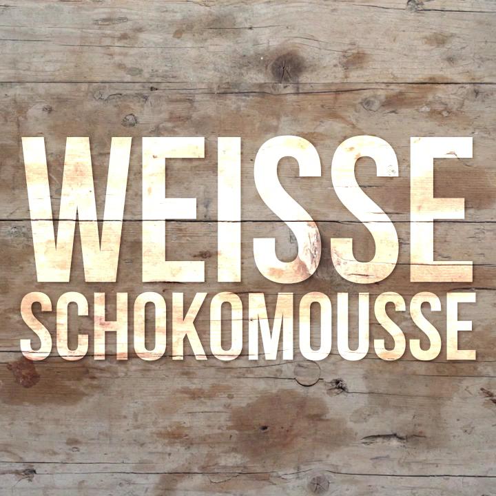 Weiße Schokomousse