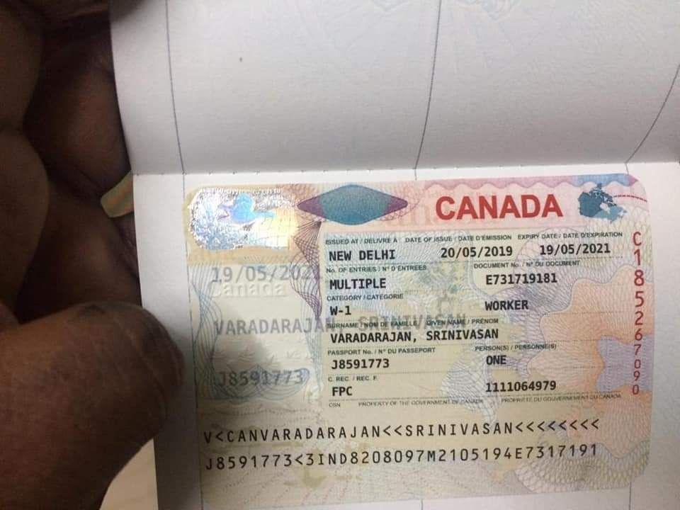 Move In Canada Work Permit Canada Work Permit Canada Visa Canada Immigration Work Visa Passport Card Visa Canada