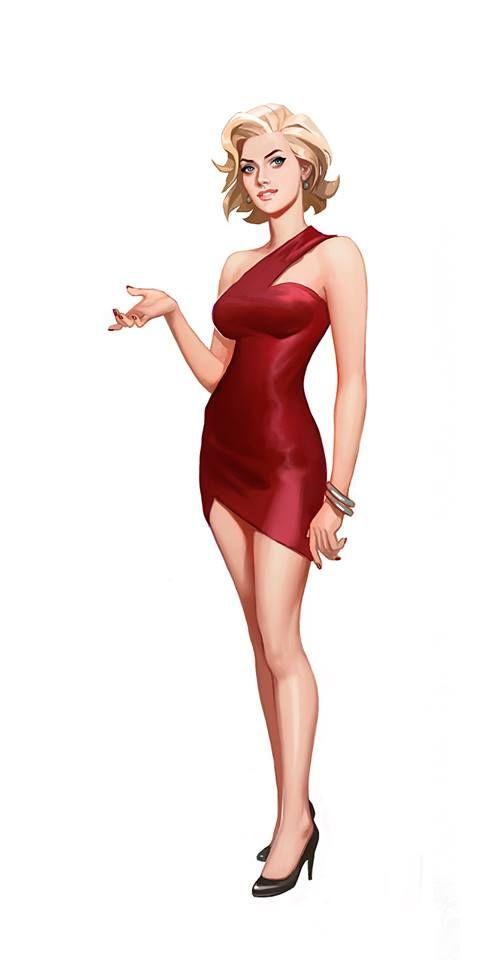 , The Sims 4 Concept Art by WESLEY BURT, Anja Rubik Blog, Anja Rubik Blog