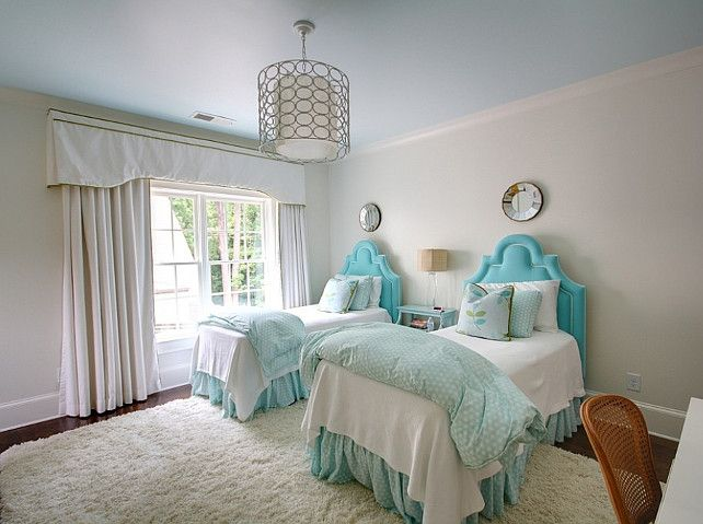 Fun Kids Room Idea Twin Bed Family Home With Casual Interiors