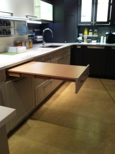 Hafele Pull Out Table 505 58 103 You Can Install This In A 24