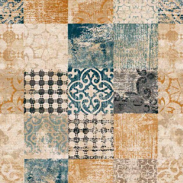 bavlněná látka Orient modrý Vintage 941a6879a55