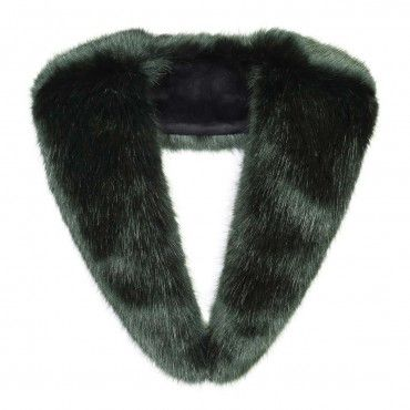 Forest Faux Fur Collar by Helen Moore