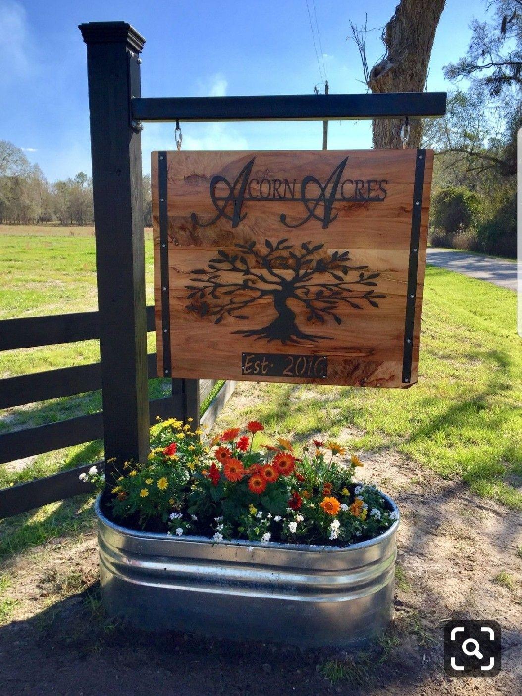 10+ Driveway entrance landscaping ideas info