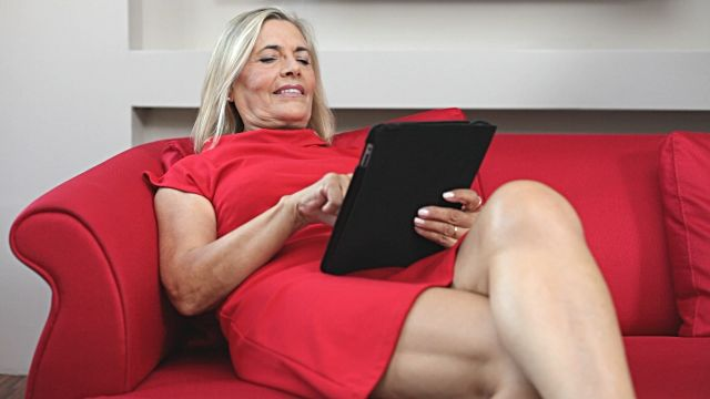 Mature business lady