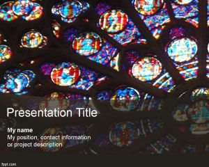 Stained glass art powerpoint background design new free powerpoint stained glass art powerpoint background design toneelgroepblik Image collections