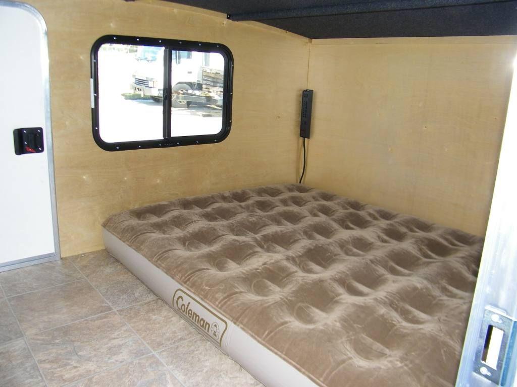 Runawaycampers Com The 6 X 8 Rangerunner Van