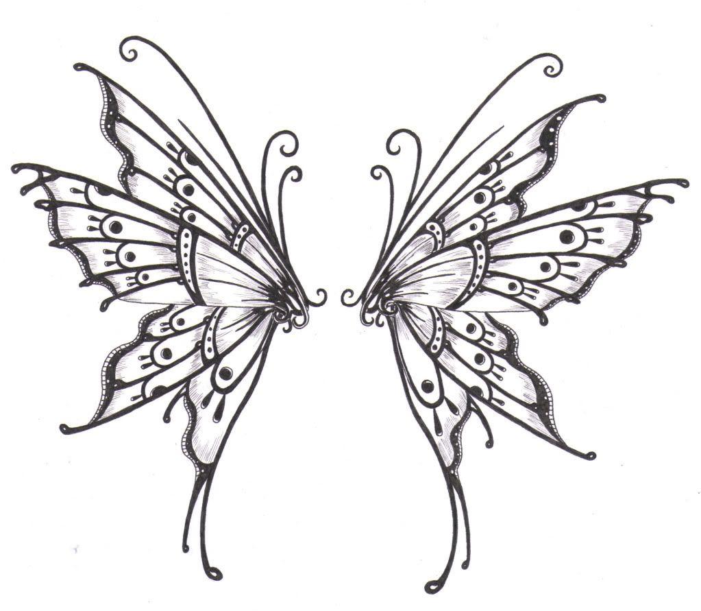 Butterfly Wings Butterfly Wing Tattoo Wings Drawing Butterfly Tattoo Designs [ 891 x 1023 Pixel ]