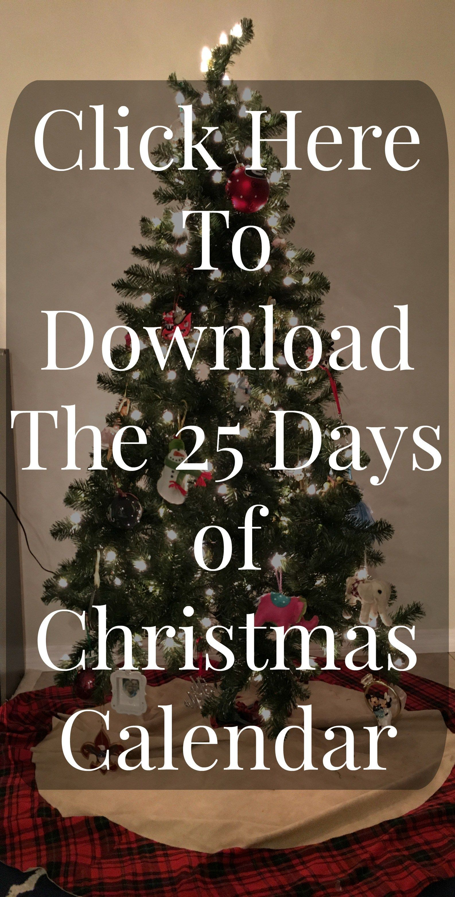 25 Days of Christmas & FREE Download! - Fun for the holiday season!
