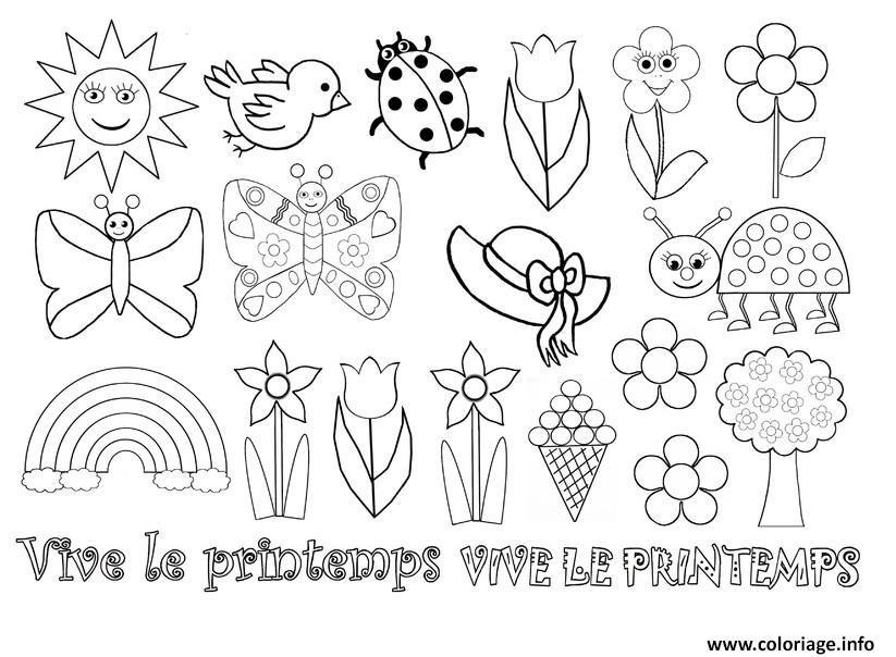 R sultat de recherche d 39 images pour dessin compl ter - Dessin de printemps ...