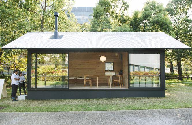 3人のデザイナーが作るミニマムなmujiの小屋 9坪ハウス 小屋