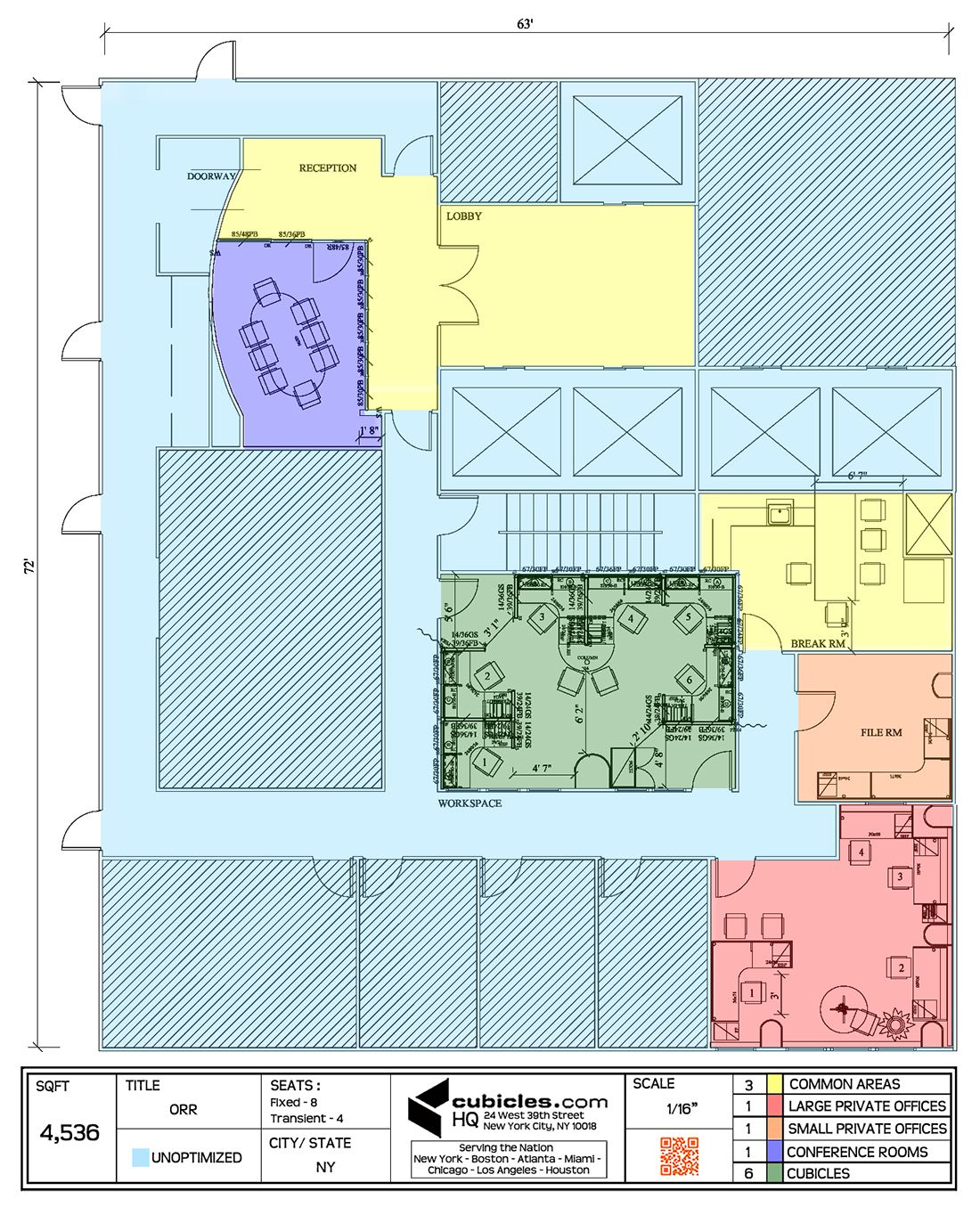 Office Layout Plan With 3 Common Areas Officelayout Office Space Planning Office Layout Plan Space Planning