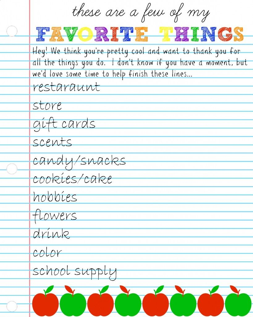 graphic about Teacher Favorite Things Printable titled Pin by way of Paula Howard upon Cl place enjoyment Trainer most loved