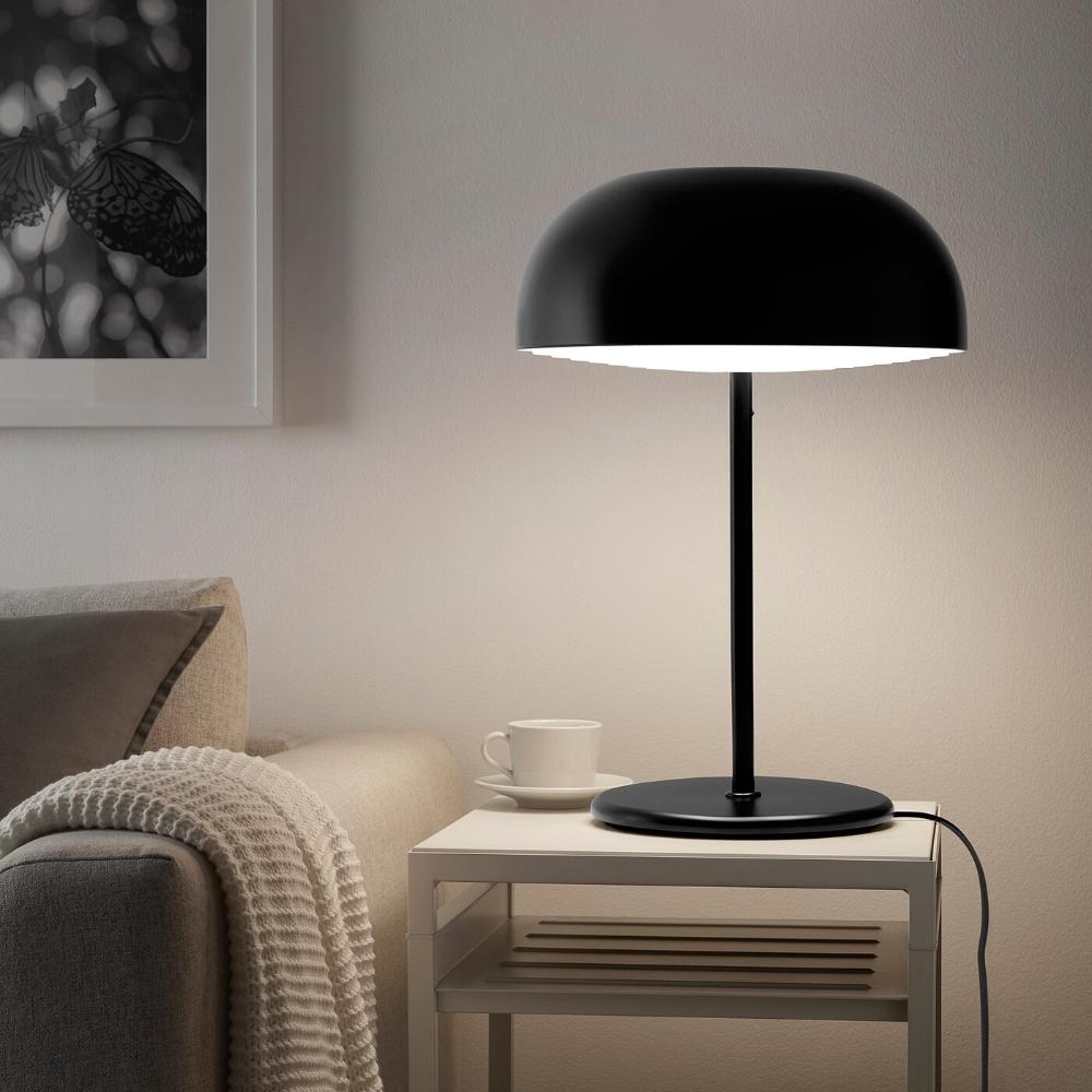NYMÅNE anthracite, Floor lamp IKEA