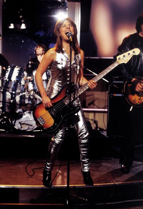 Suzi Quatro Female Musicians Female Guitarist Glam Rock